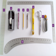 9 Tools You Need to Make Your Own Sewing Patterns