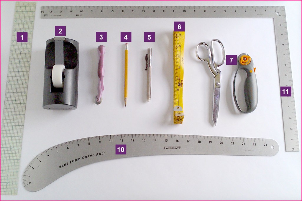 KatrinaKayCreations-Patternmaking-Tools