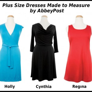 Plus Size Dresses Made to Measure  by AbbeyPost