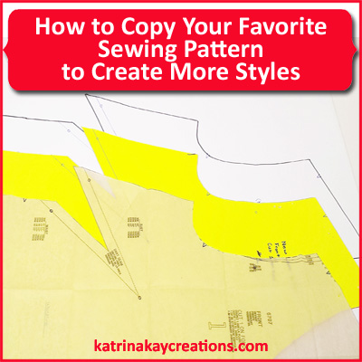 How to Copy Your Favorite Sewing Pattern to Create More Styles ...