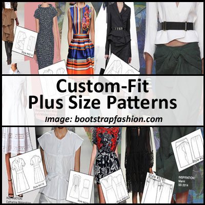Custom Fit Plus Size Patterns
