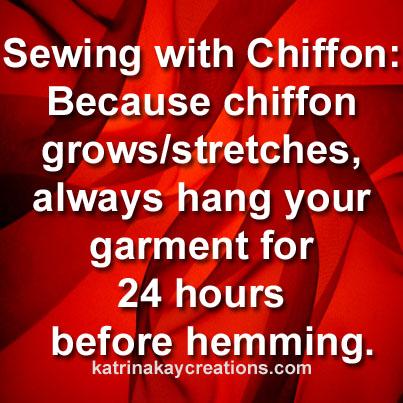 Quick chiffon tip10 fav