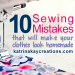 10 sewing mistakes tn | katrinakaycreations.com