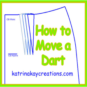 How to Move a Dart on Your Sewing Pattern