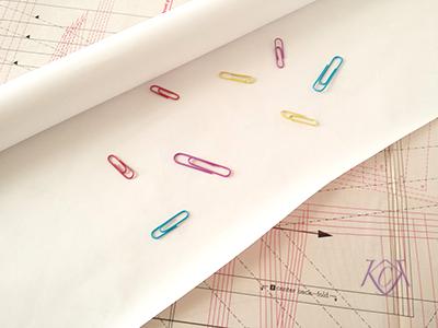 Patternmaking Tools banner paper | katrinakaycreations.com