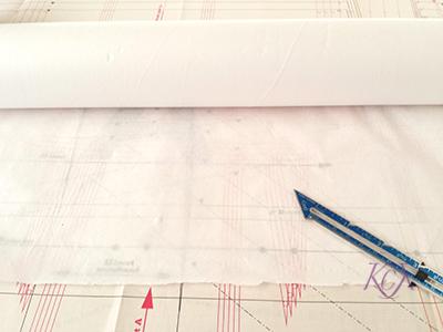 Patternmaking Tools medical paper | katrinakaycreations.com