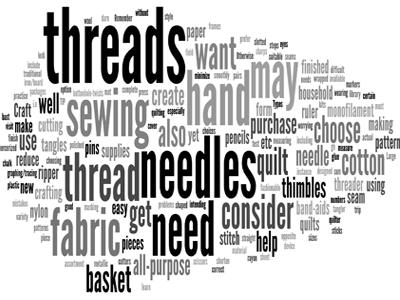 sewing terms Katrina Kay Creations