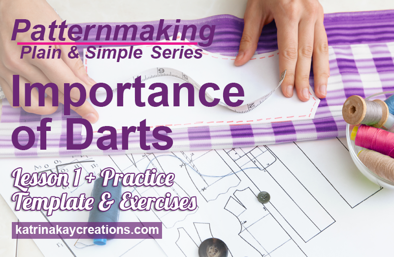 In this video tutorial I'll teach you the importance of darts in patternmaking. Darts can be manipulated or moved to create styles & design. I'll show you 2 methods of moving darts, the Slash/Spread Method & the Pivot Method. You can also download a FREE worksheet & practice template to practice your patternmaking.