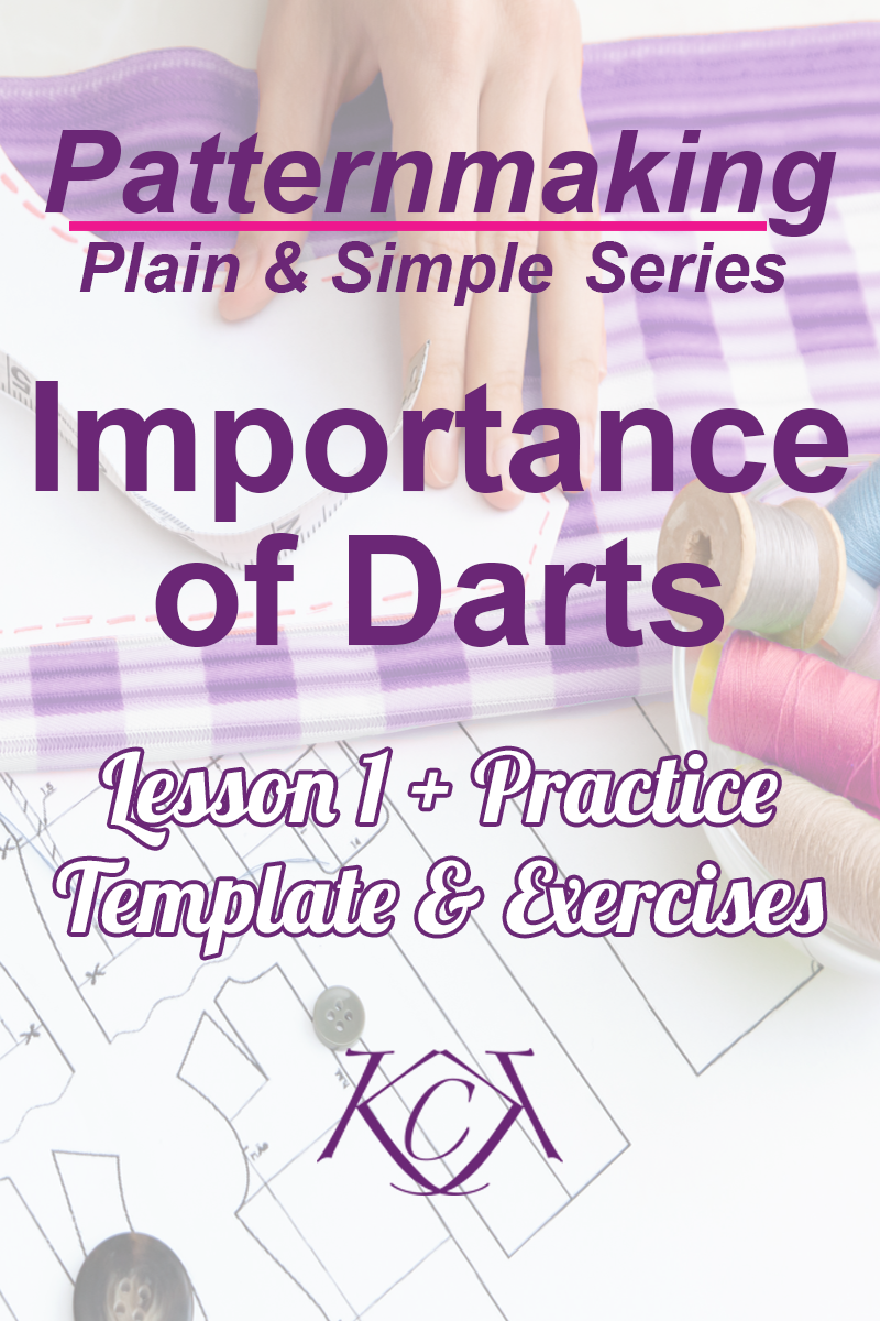 In this video tutorial I'll teach you the importance of darts in patternmaking. Darts can be manipulated or moved to create styles & design. I'll show you 2 methods of moving darts, the Slash/Spread Method & the Pivot Method.