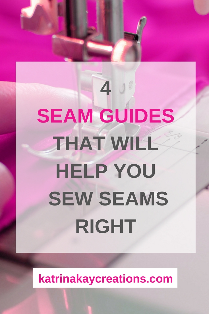Seam Guides | How To Sew With A Seam Guide | Magnetic Seam Guide | Nancy Notions' 6 in 1 Stick 'N Stitch Seam Guide | This blog post will show you how to use seam guides to help you sew straight and curved seams.