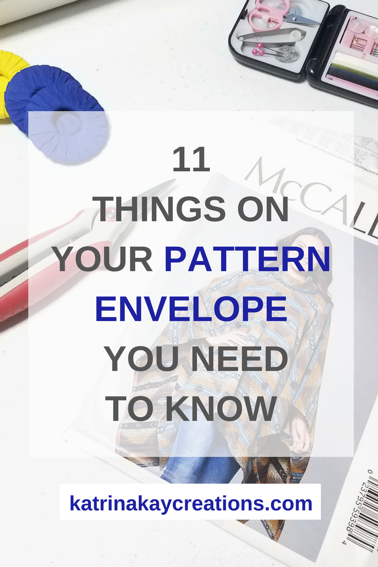 Sewing Pattern Envelope | Read Sewing Pattern Envelope | How To Read Sewing Pattern Envelope |